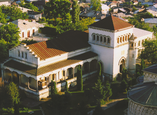 Aerial view of the museum.